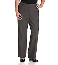 Rafaella® Plus Size Five-Pocket Pant - Graphite