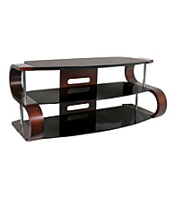 Lumisource® Metro Series 120 TV Stand - Brown/Black