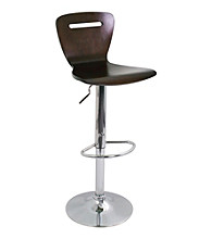 Lumisource® H2 Bent Wood Barstool