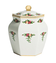 Royal Albert® Old Country Roses Biscuit/Cookie Jar