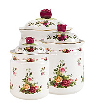 Royal Albert® Old Country Roses 3-pc. Cannister Set