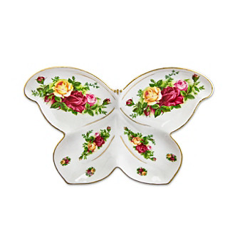 Royal Albert® Old Country Roses Butterfly Dish
