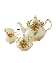 Royal Albert® Old Country Roses 3-pc. Tea Set