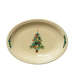 Fiesta® Dinnerware Christmas Tree Oval Vegetable Bowl