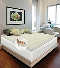 Future Foam™ Comfort Loft Convoluted Memory Foam Mattress Topper