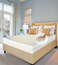 Future Foam™ Comfort Loft Cool Convoluted Memory Foam Mattress Topper