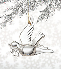 Marquis by Waterford® Crystal Dove Christmas Ornament