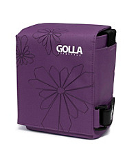 Golla™ SLR/Camcorder Messenger Bag - Sun Purple