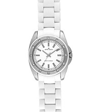 Anne Klein® Women's Plastic Sport Watch - White