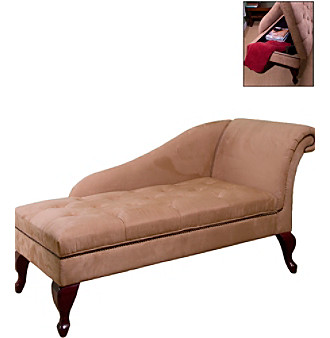 TMS Storage Chaise Lounge Chair