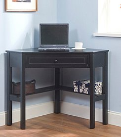TMS Corner Desk - Black