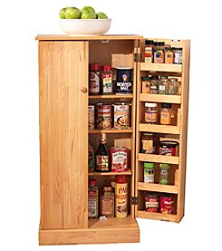 TMS Pine Utility Pantry