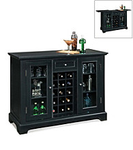 Home Styles® Bedford Bar Cabinet - Black