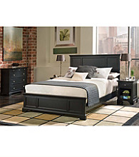 Home Styles® Black Bedford Queen Bedroom Collection