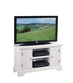 Home Styles® Naples TV Stand - White
