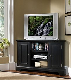 Home Styles® Bedford Corner Entertainment Stand - Black