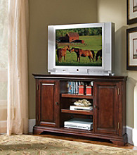 Home Styles® Lafayette Corner Entertainment Stand - Cherry