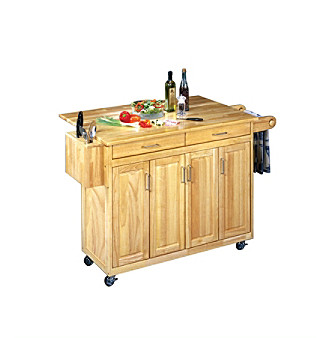 Product: Home Styles® Wood Top Kitchen Cart with Breakfast Bar ...