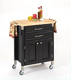 Home Styles® Dolly Madison Prep and Serve Cart - Black