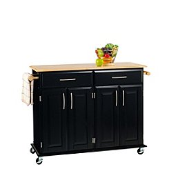 Home Styles® Dolly Madison Island Cart - Black