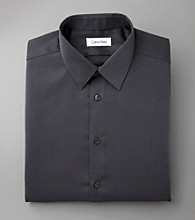 Calvin Klein Men's Carbon Steel Dress Shirt