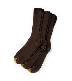 GOLD TOE® Men's 3-Pack Brown