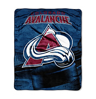 Colorado Avalanche Micro-Raschel Throw