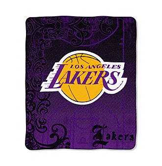Los Angeles Lakers Micro-Raschel Throw