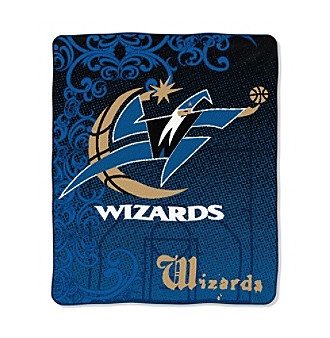 Washington Wizards Micro-Raschel Throw