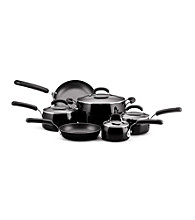 Farberware® Black Porcelain Nonstick 10-pc. Cookware Set