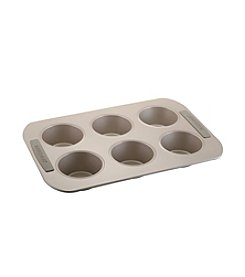 Farberware® Soft Touch Bakeware 6 Cup Jumbo Muffin Pan