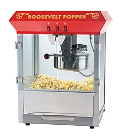 "Great Northern Popcorn Company ""Roosevelt"" Popcorn Machine - Red"