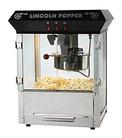 "Great Northern Popcorn Company ""Lincoln"" Popcorn Machine - Black"