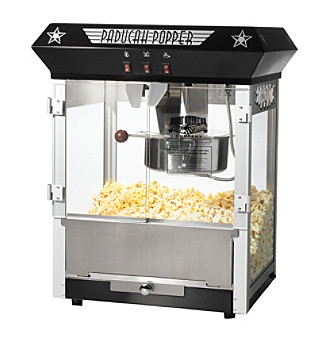 "Great Northern Popcorn Company ""Paducah"" 8-oz. Bar Style Antique Popcorn Machine - Black"