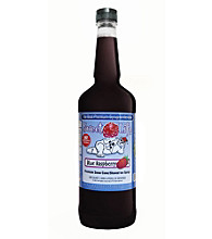 Great Northern Popcorn Company 1 Quart Snow Cone Syrup - Blue Raspberry Sweet Life