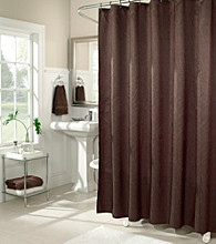 m.style™ Waves Solid Shower Curtain