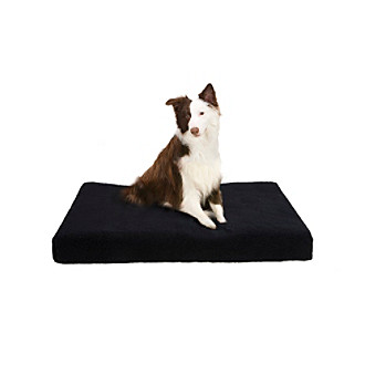 Soft Touch Rectangular Orthopedic Napper Dog Bed