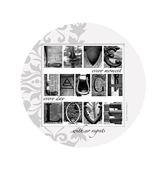 Thirstystone® Set of Four Live, Laugh, Love Coasters