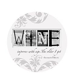 Thirstystone® Set of Four Wine Coasters