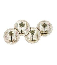 Thirstystone® Set of Four Ferns & Palms Coasters
