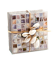Thirstystone® Mother-of-Pearl 4-pk. Decorative Coasters