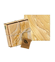 Thirstystone® Natural Sandstone 4-pk. Coasters