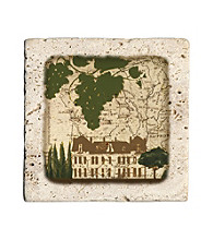 Thirstystone® Villa Map 4-pk. Coasters