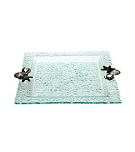 Thirstystone® Sea Shells Square Glass Tray