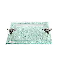 Thirstystone® Grapes Square Glass Tray