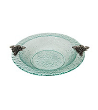 Thirstystone® Grapes Round Glass Bowl