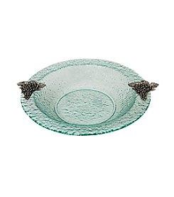 Thirstystone® Grapes Round Glass Bowl