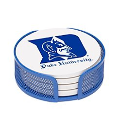 Thirstystone NCAA® Duke University 4-pc. Coaster Set with Holder