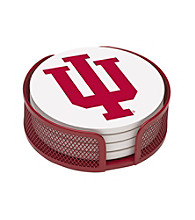 Thirstystone® Indiana University 4-pc. Coaster Set with Holder