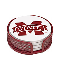 Thirstystone® Mississippi State 4-pc. Coaster Set with Holder
